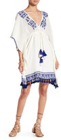 Gypsy 05 Gypsy05 Kaftan Sleeve Embroidered Mini Dress