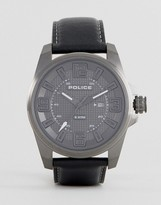 Police Focus Watch In Black