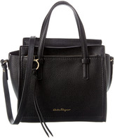 Salvatore Ferragamo Double Handle Leather Tote
