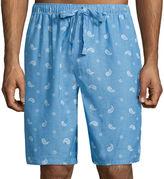Izod Woven Pajama Shorts - Big & Tall