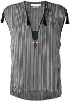 Etoile Isabel Marant striped top - women - Cotton - 36
