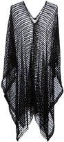 Forte Forte sheer striped tunic - women - Cotton/Polyamide/Spandex/Elastane - One Size
