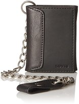 Levi's Men's Trifold Wallet with Chain