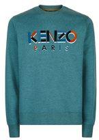 Kenzo Flocked Logo Sweatshirt