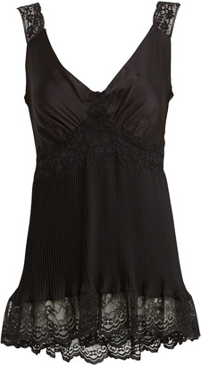 Paco Rabanne Lace-Trimmed Satin Camisole