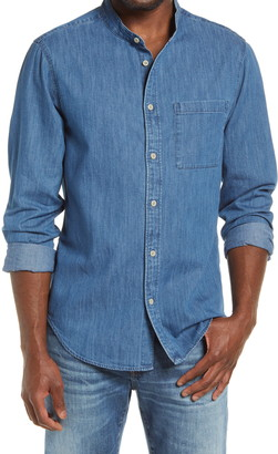Madewell Perfect Slim Fit Denim Button-Up Shirt