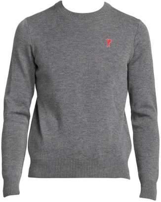 Ami Paris De Coeur Wool Sweater