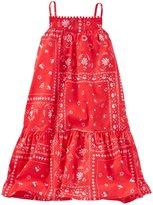 Osh Kosh Bandana Print Woven Dress (Toddler/Kid) - Print - 3T