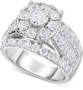 TruMiracleandreg; Diamond Engagement Ring (3 ct. t.w.) in 14k White Gold
