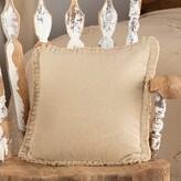 Pomona Cotton Throw Pillow August Grove Color: Vintage White
