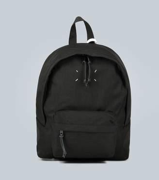 Maison Margiela Stitched canvas backpack