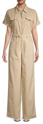 WeWoreWhat Cotton & Linen-Blend Flight Suit