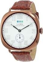 La Mer Women's LMOVW2030 Brown Copper Oversized Vintage Watch