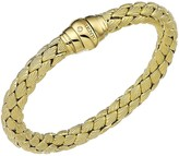 Chimento 18K Yellow Gold Stretch Classic Collection Pyramid Shell Bracelet with Diamonds