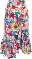 Baum und Pferdgarten Simba High Waisted Floral Skirt