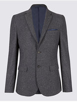 Limited Edition Wool Blend Textured Jacket