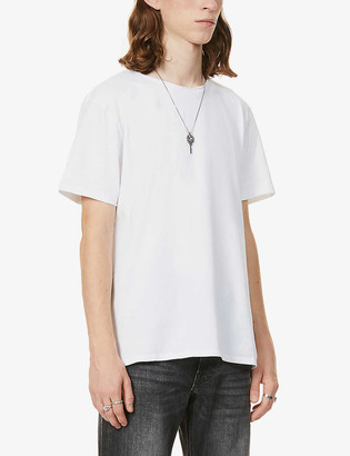 AllSaints Bodega stretch-cotton jersey T-shirt