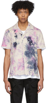 EDEN power corp Purple Tie-Dye Field Shirt
