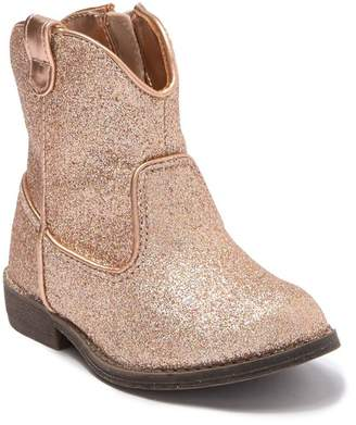 Harper Canyon Glitter Bailey Western Bootie (Toddler)