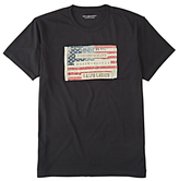 Denim & Supply Ralph Lauren Flag Patch T-shirt, Polo Black