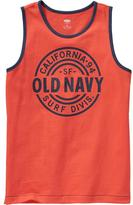 "Old Navy Boys ""Surf Division"" Tanks"