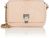 Proenza Schouler WOMEN'S COURIER TINY PYTHON SHOULDER BAG-NUDE