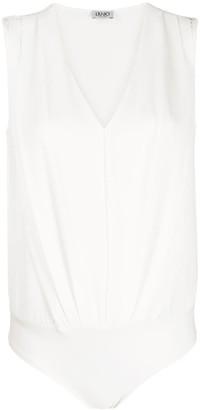 Liu Jo V-neck blouse bodysuit