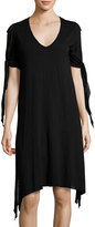 LAmade Cecila Jersey Dress, Black
