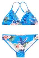 Seafolly Retro Tropic Ruffle Two-Piece Swimsuit