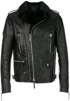 Giuseppe Zanotti Design Cornelius leather jacket