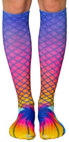 Living Royal Mermaid Rainbow Socks