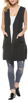 Dex Charcoal Sweater Vest