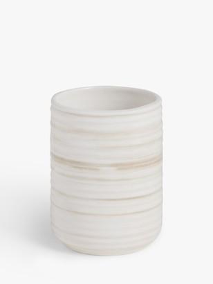 John Lewis & Partners Ceramic Bathroom Tumbler