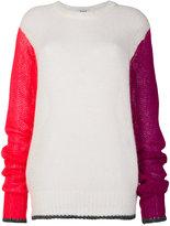Marios colour block sweater