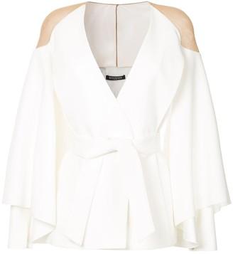 Balmain Sheer Shoulder Jacket