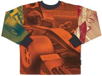 Molo Race Print Organic Cotton Sweatshirt
