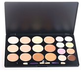 Pure Vie® Professional 20 Colors Cream Concealer Camouflage Makeup Palette Contouring Kit