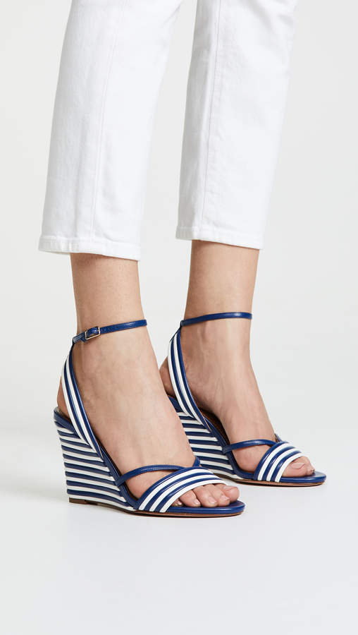 Aquazzura Sundance Wedge 85 Sandals