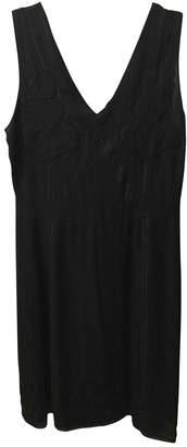 Cacharel Black Silk Dress for Women