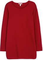 Eileen Fisher Red Cotton Jumper