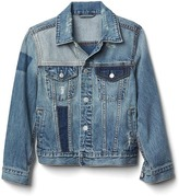 Gap Patchwork denim jacket
