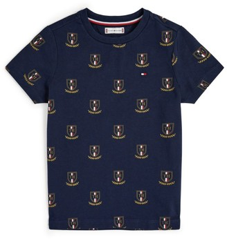 Tommy Hilfiger Junior Crest Logo T-Shirt