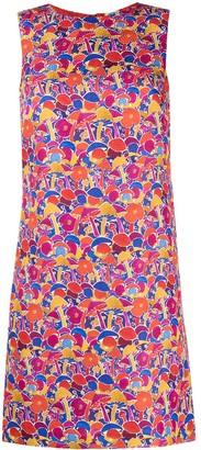 M Missoni Floral Print Shift Dress