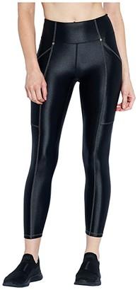 Heroine Sport Allure Leggings (Black) Women's Clothing