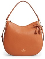 Kate Spade Hayes Street Aiden Leather Hobo - Brown