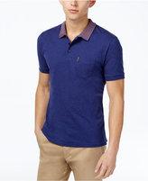 Ben Sherman Men's Slim-Fit Apple-Collar Polo