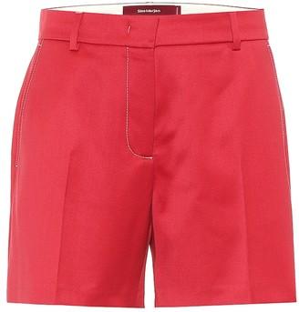 Sies Marjan Sienna wool-twill shorts