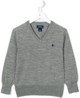 Ralph Lauren v-neck jumper - kids - Wool - 2 yrs