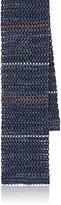 Boglioli Men's Striped Cotton-Linen Knit Necktie