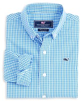 Vineyard Vines Boys' Gingham Button-Down Shirt - Little Kid